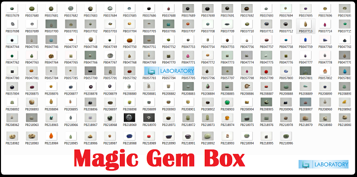 Magic Gem Box Kit (Loose Gemstones)