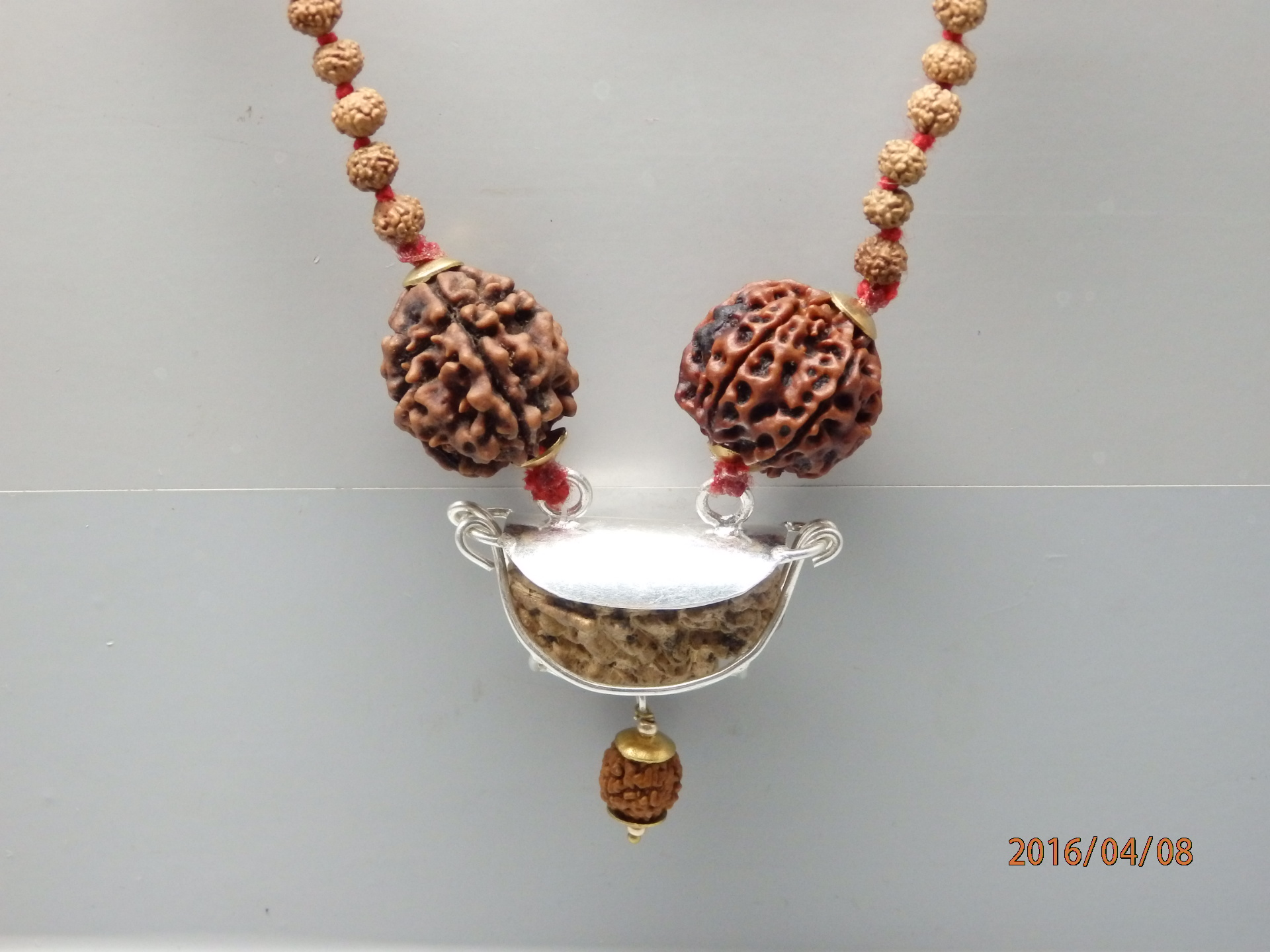 2 Mukhi Communication Rudraksha Kavach